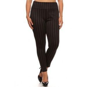 Pants - Pinstripe legging pants